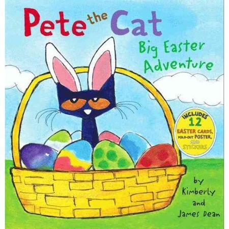 Pete The Cat, Big Easter Adventure Book Just $5.72! Down From $9.99!