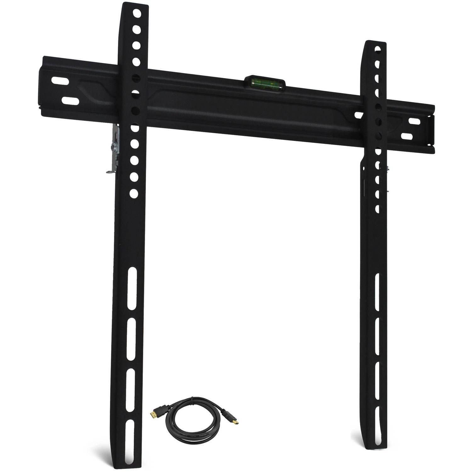 "Low-Profile TV Wall Mount for 19""-60"" TVs with HDMI Cable Only $9.29! Down From $40.00!"