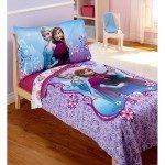 Disney Frozen Elsa & Anna 4pc Toddler Bedding Set Just $32.98 Down From $70.00 At Walmart!