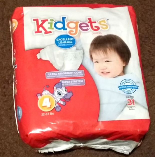 Kidgets Diapers At Family Dollar Are A Great Value!