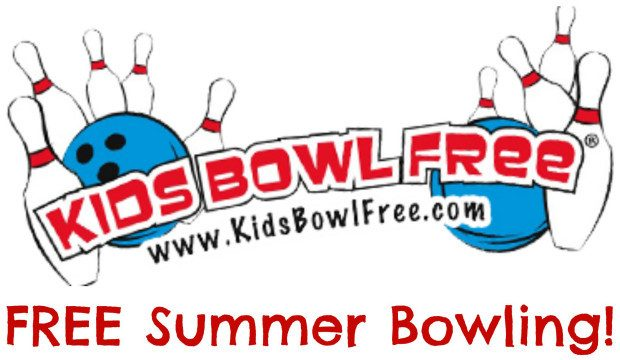 FREE Bowling All Summer For Your Kids!