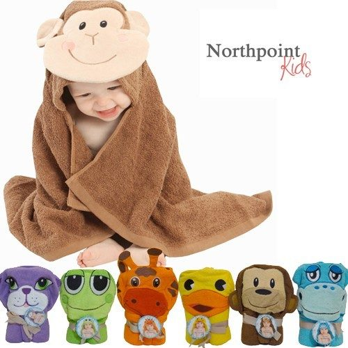 Northpoint Kids 100% Cotton Animal Character Towels Just $8.99!  Ships FREE!