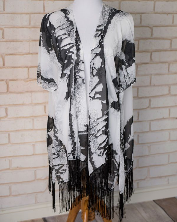 Misty - Horse Abstract Kimono Only $19.95 Ships FREE!