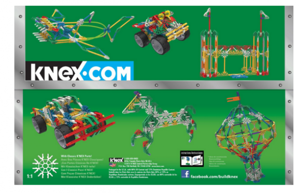 K'nex 70 Model Building Set, 13419, 705 Piece Just $16.88!  Down From $39.99!