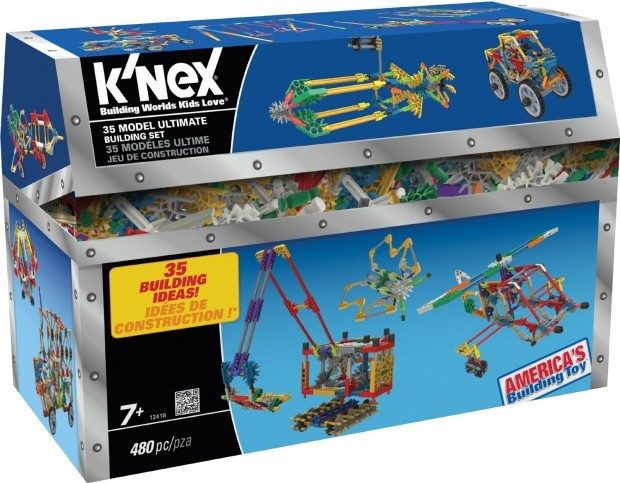 K'nex 35 Model Ultimate Building Set Now Only $10.35!  (Reg. $28!)