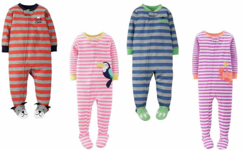 Carter's Footed PJs Only $3.85 Shipped!