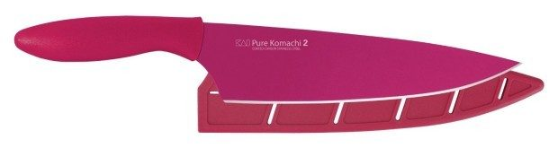 "Pure Komachi 2 Series 8"" Chef's Knife, Fuchsia Now Only $9.79!"