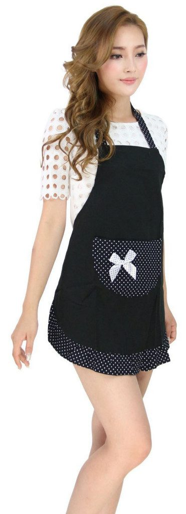 ladies fancy maid apron