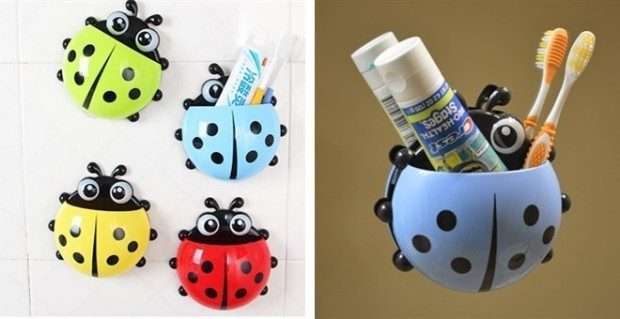 Ladybug Toothbrush Holder Just $3.99!