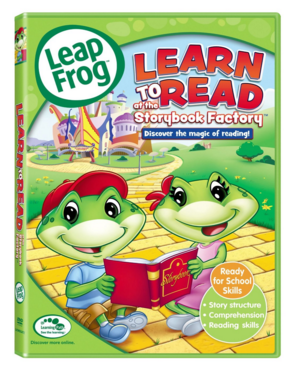 LeapFrog: Learn To Read At The Storybook Factory Just $5.11 Down From $15!
