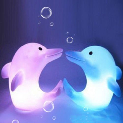 LED Dolphin Nightlight Only $2.16 + FREE Shipping!
