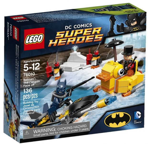 LEGO Super Heroes Batman: The Penguin Face Off Only $10.99!
