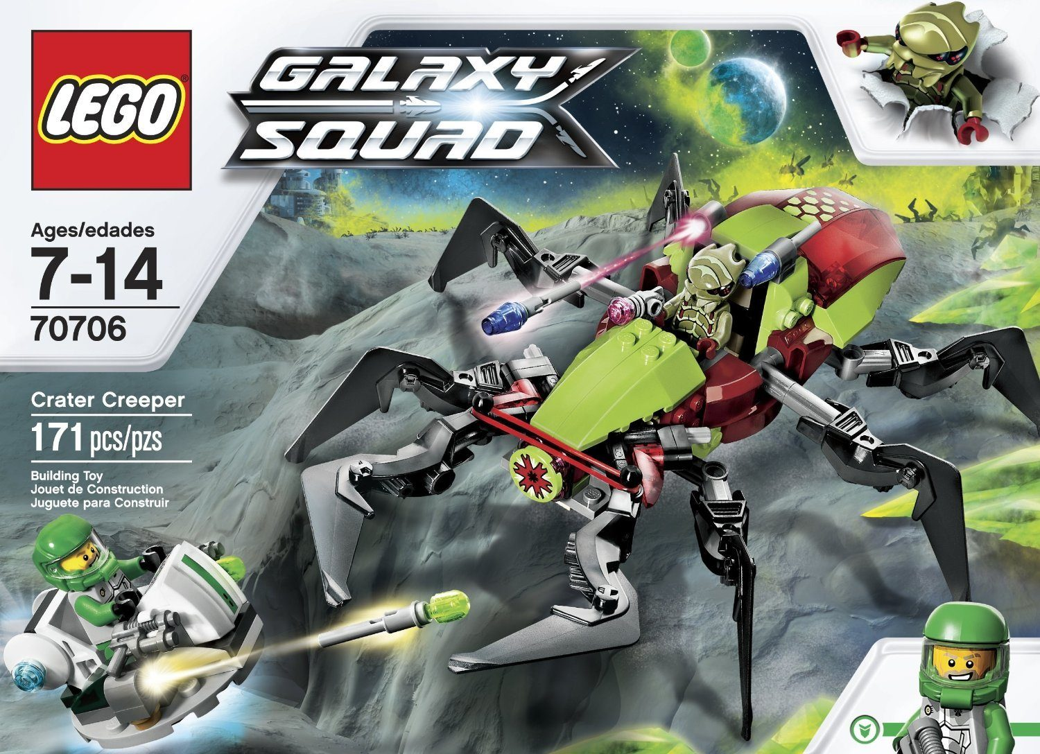 LEGO Galaxy Squad Crater Creeper Only $10.49 + FREE Shipping with Prime!