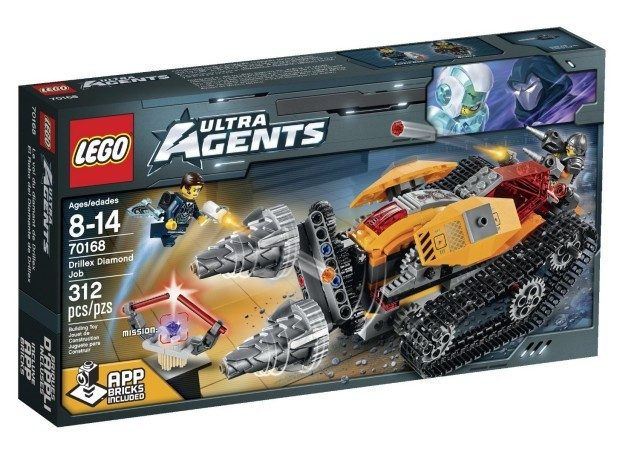 LEGO Ultra Agents Drillex Diamond Job Toy Only $20.99!
