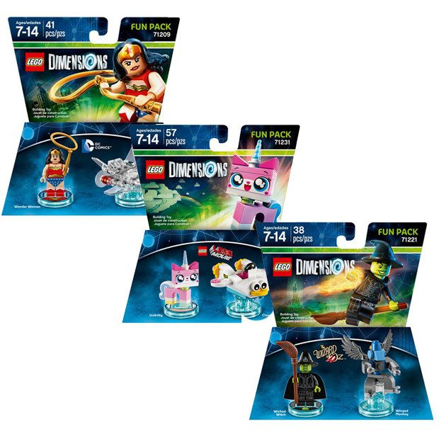 LEGO Dimensions Fun Packs Just $7.50 Down From $14.99 At Best Buy!
