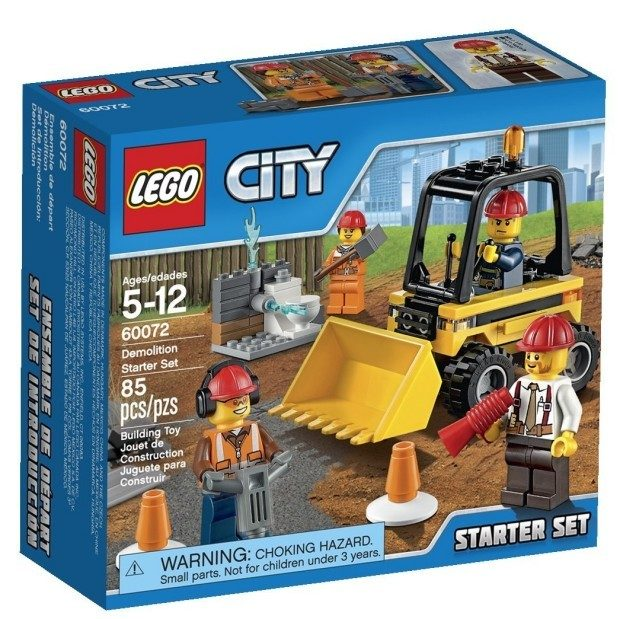 LEGO City Demolition Starter Set Only $9.99!