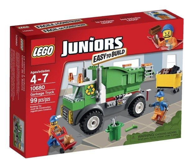 LEGO Juniors Garbage Truck Only $14.99!