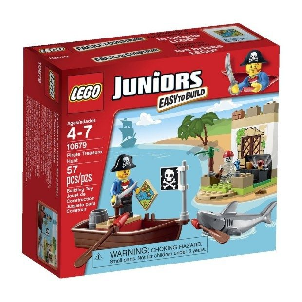 LEGO Juniors Pirate Treasure Hunt Set Only $9.84! (Reg. $12!)
