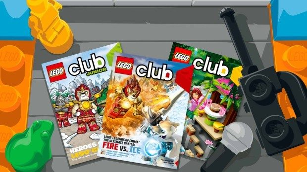 FREE 2 Year Subscription To Lego Club Magazine!