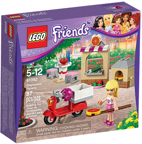 LEGO Friends Stephanie's Pizzeria Just $7.99!
