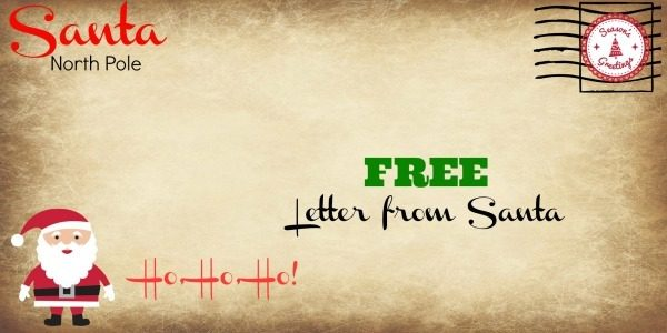 get a letter from santa how to get a free letter from santa grocery shop for 34857