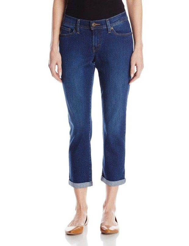 Labor Day Sale - Levi's Women's Curvy Crop Jean Only $16.79!