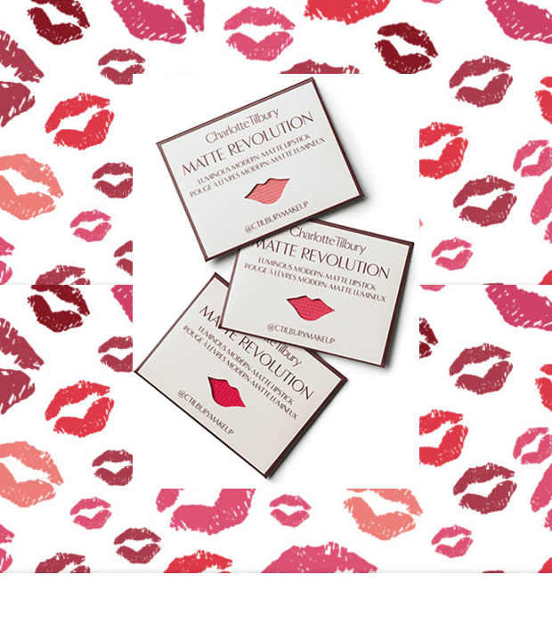 Send 3 FREE Charlotte Tilbury Lipstick Samples To Your Friends!