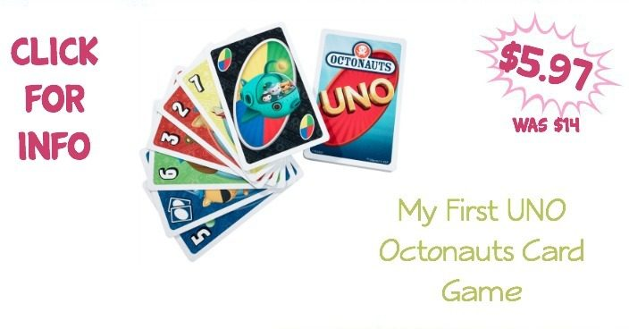 My First UNO Octonauts Card Game Just $5.97 Was ($14)!