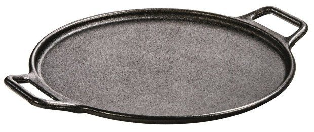 Lodge Pro-Logic P14P3 Cast Iron Pizza Pan, Black, 14-inch Only $29.74! (Reg. $50!)