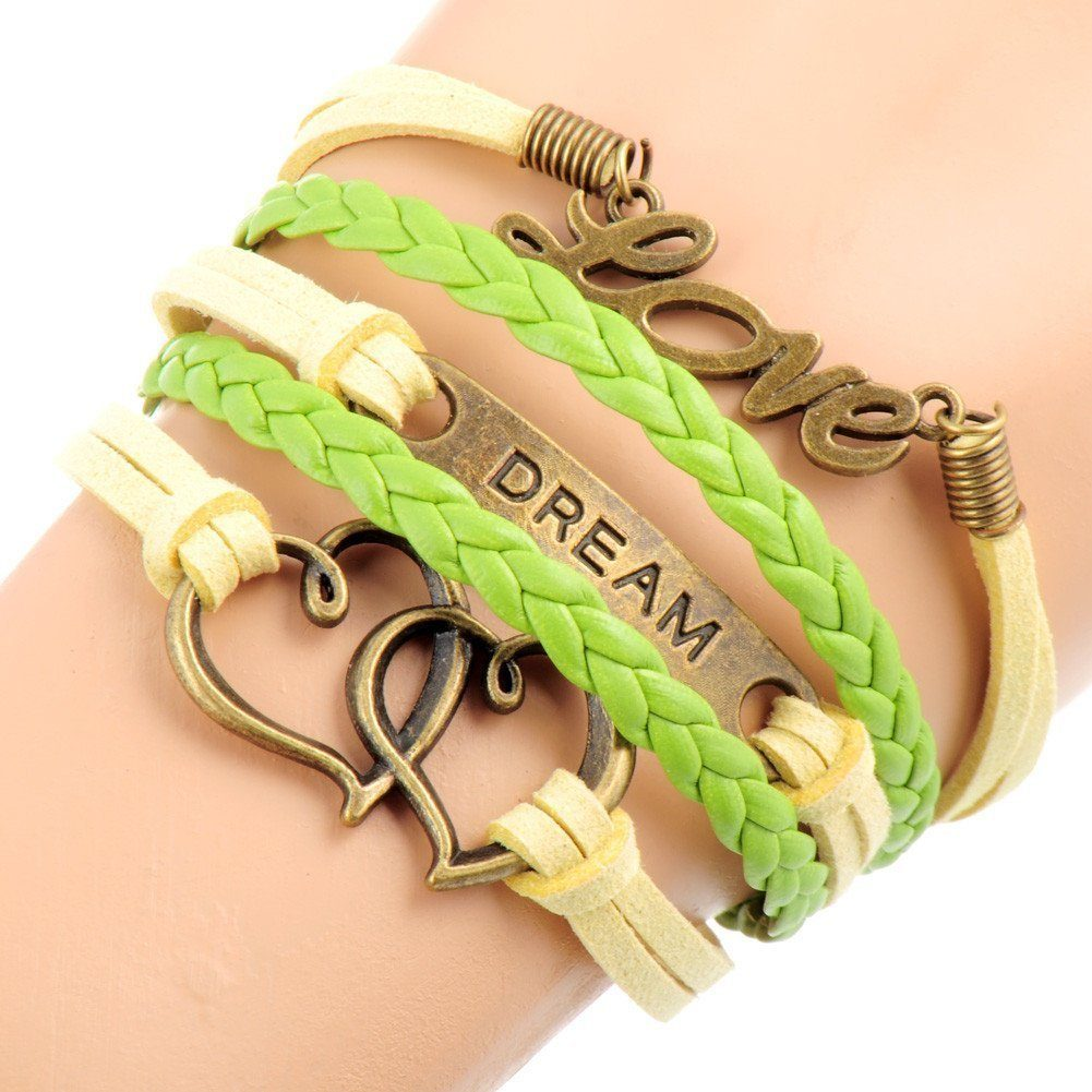 love dream heart bracelet