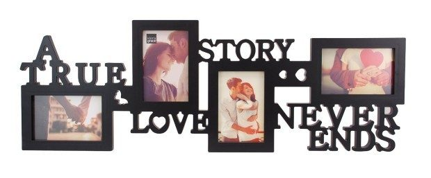 """True Love"" Collage Picture Frame Only $15.29!"