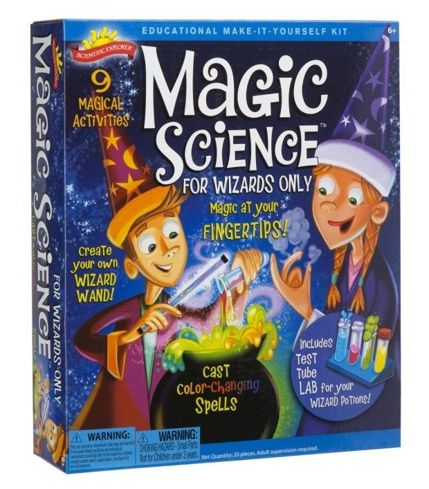 Scientific Explorer Magic Science Kit for Wizards Just $14! (reg. $22)
