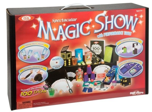 Ideal 100-Trick Spectacular Magic Show Suitcase Just $39.60! (Save 25%!)