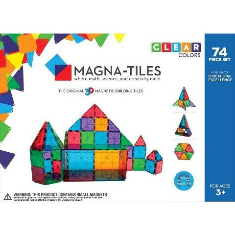 74-Piece Magna-Tiles Set Was $100 Now Only $69 Shipped!