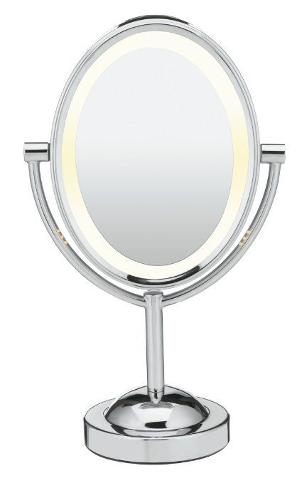 Conair Oval Double-Sided Lighted Makeup Mirror Just $19.99!