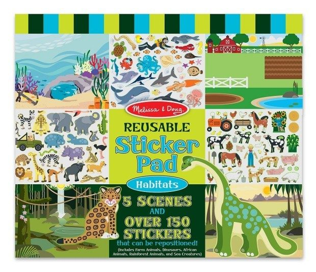 Melissa & Doug Habitats Reusable Sticker Pad Only $4.99 Plus FREE Shipping!