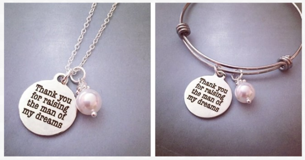 Mother-In-Law Sterling Necklace Or Bracelet Only $9.99!