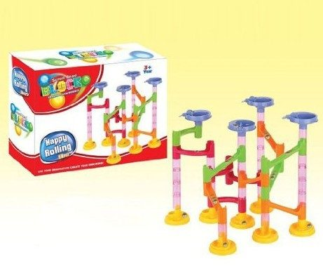 58 Pc Marble Run Building Kit Only $14.99 Plus FREE Shipping!