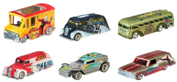 Hot Wheels Pop Culture Collection Marvel Die-Cast Vehicle (6-Pack) Just $12 Down From $28!