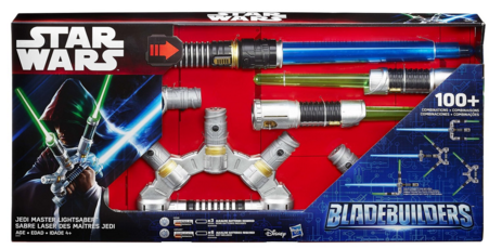 Star Wars Bladebuilders Jedi Master Lightsaber Just $25 Down From $50!