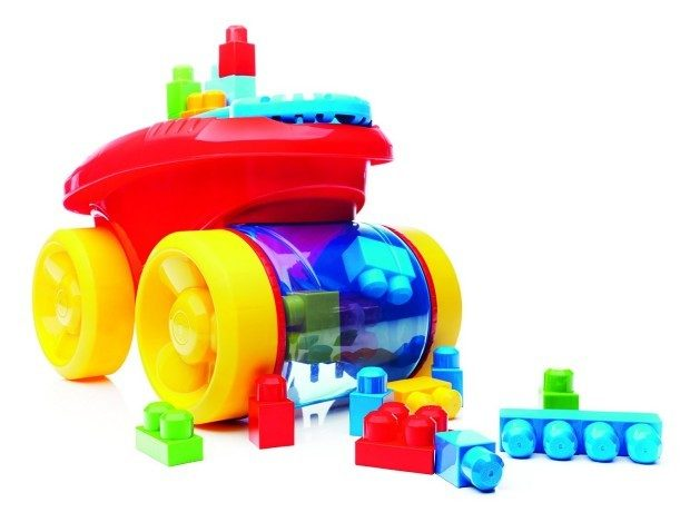 Price Drop!  Mega Bloks Block Scooping Wagon Building Set Now Only $24!  Down From $35!