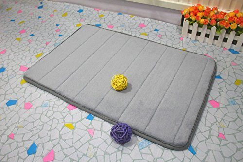 Memory Foam Bath Mat in Gray Just $5 + FREE Shipping!