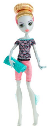 Monster High Fangtastic Fitness Lagoona Blue Doll Just $7.09 Down From $13!