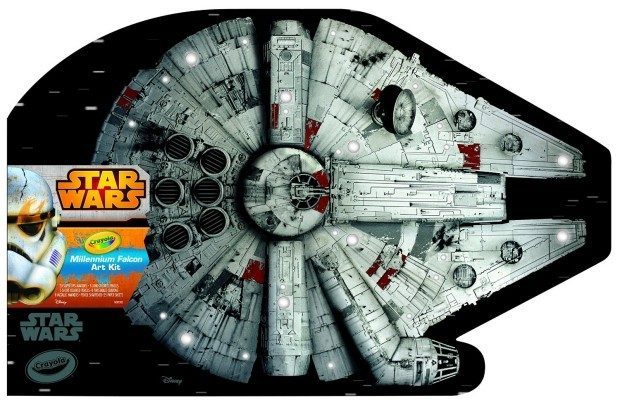 Crayola Millennium Falcon Art Case Toy Only $9.22! (Reg. $39!)