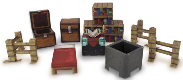 Minecraft Papercraft Utility Pack, Over 30 Pieces Just $5.80 Down From $12!