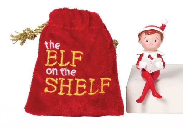 mini elf on a shelf