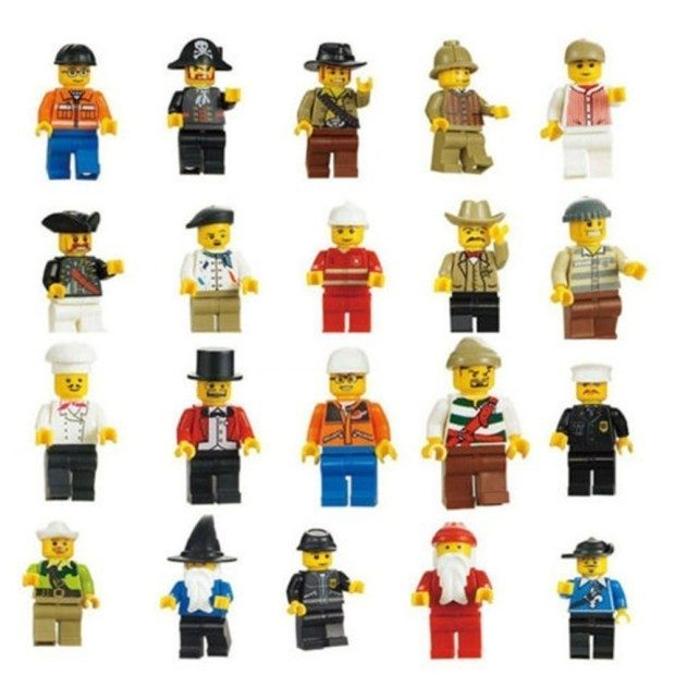 ThinkMax Minifigures (Pack of 20) Lego Compatible Just $4.59! Ships FREE!