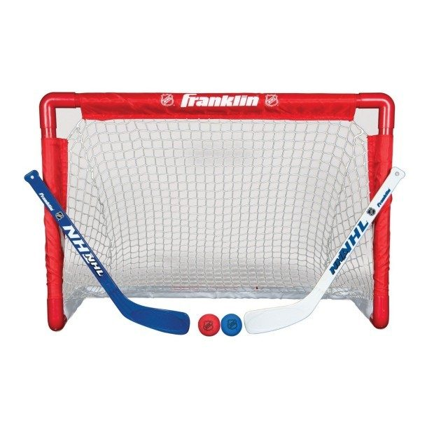 Prime Exclusive! NHL Mini Hockey Goal Set Only $16.99!  (Reg. $40!)