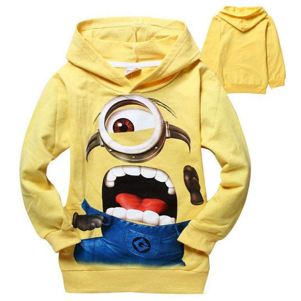 Minion Hoodie Sweatshirt Just $14.49! Ships FREE!