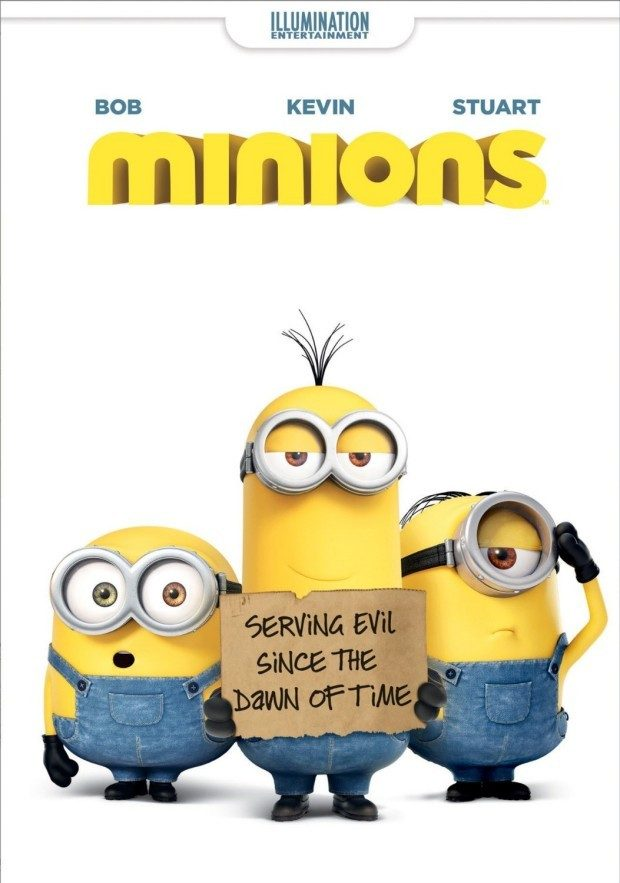 Minions on DVD Just $14.99! (Blu-Ray, $17.99)